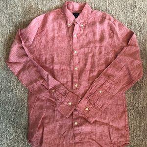 J.Crew Linen button down shirt
